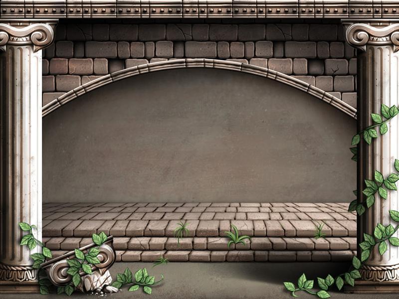 Roman background Illustration
