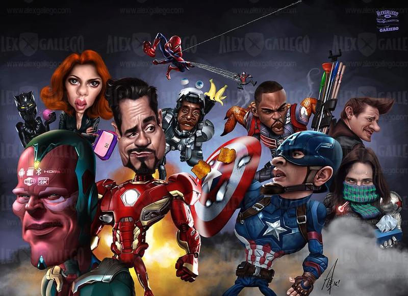 Civil War caricature