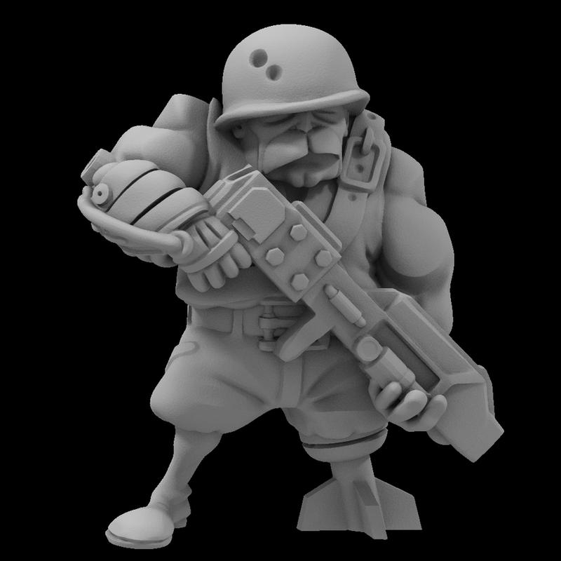 Sergeant Ironflesh