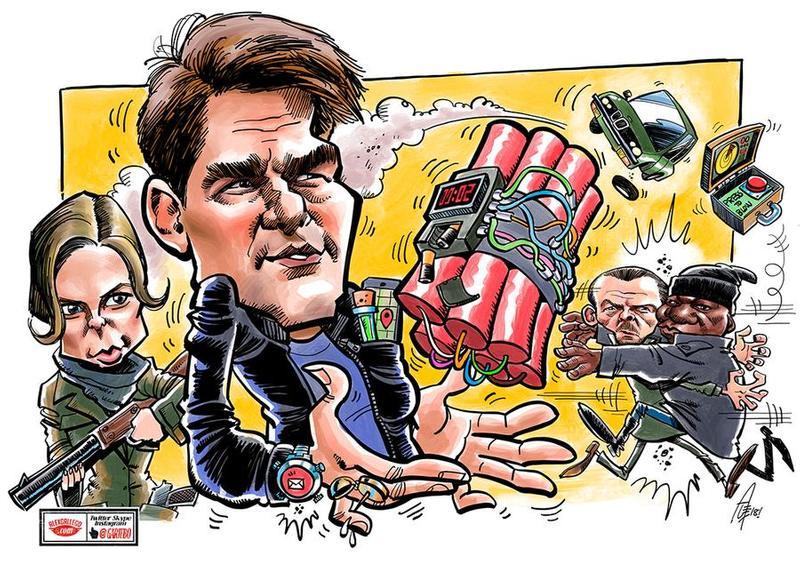 iPad PRO caricatures