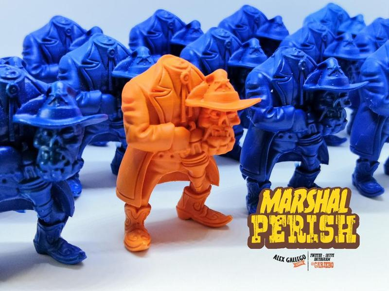 MARSHALL PERISH 3D