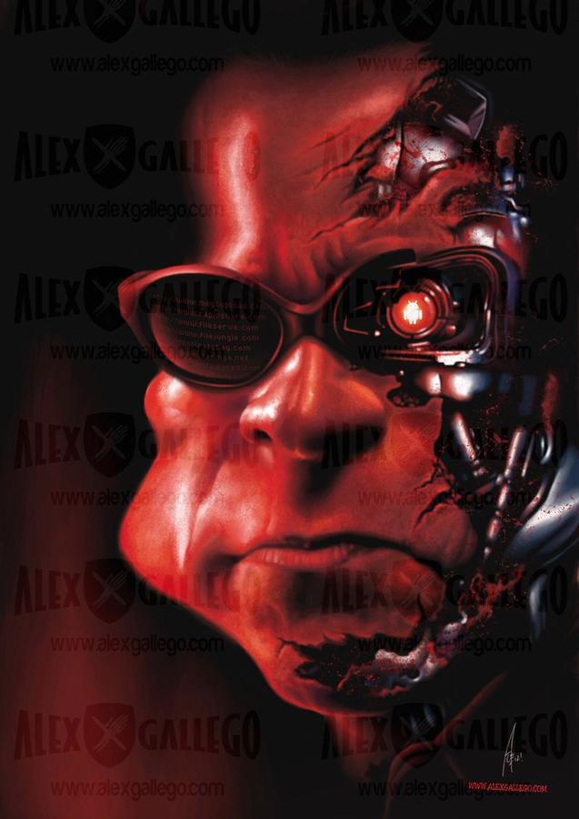 Terminator Caricature