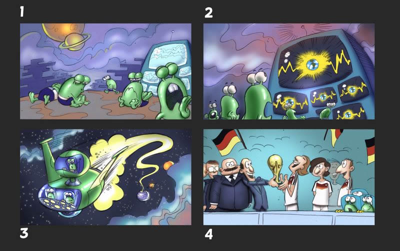 Storyboards for FIFA