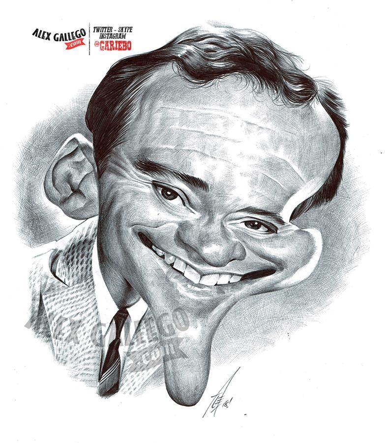 Ballpoint Pen Caricature