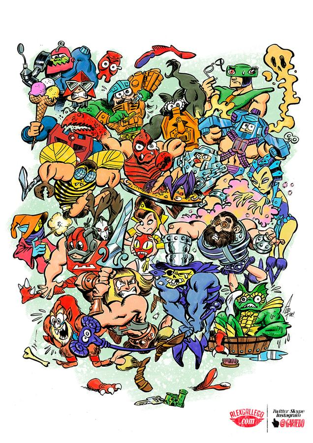 Masters of Grayskull